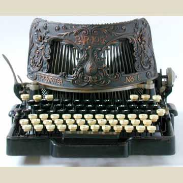 The Virtual Typewriter Museum: Bar-lock 6